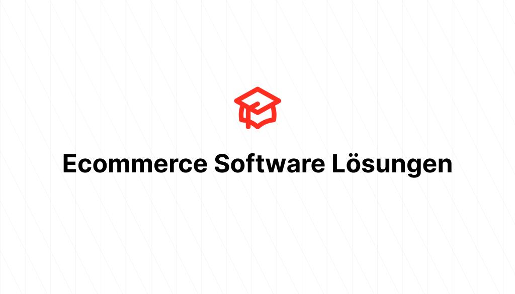 Ecommerce Software Lösungen